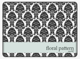 Floral Vector Pattern in ai