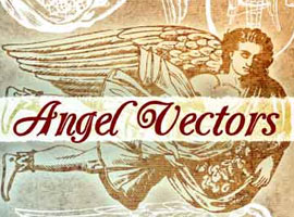 Vintage Winged Angel Vectors