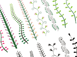 Decorative Plants Vector