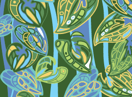 Jungle Wallpaper Pattern Vector- Free.