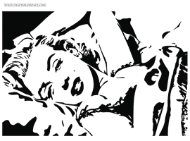 Marilyn Monroe Vector Portrait