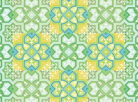 Colored Pattern Background Vector