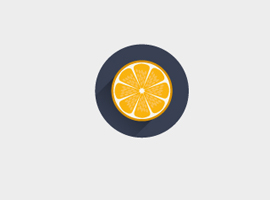 Free Orange Vector Icon