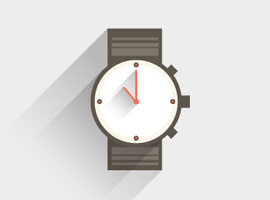 Flat Watch Vector