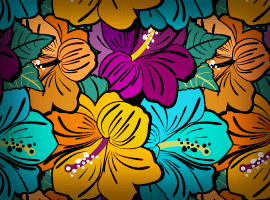 Very flowery Ai free patterns