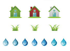 Ecology Set Vector