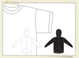 Free T-Shirt and Sweatshirt Template