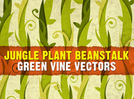 Jungle Plant Vine Beanstalk