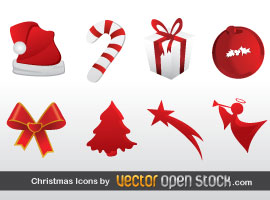 Christmas Free Vector Icons