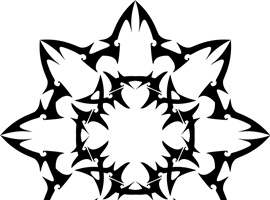 Abstract Tribal Ornament Vectors