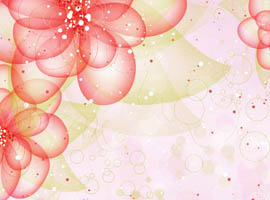 Beautiful Floral Vector Background