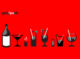 Liquor Glass Vectors