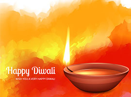 Indian Diwali Festival Diya
