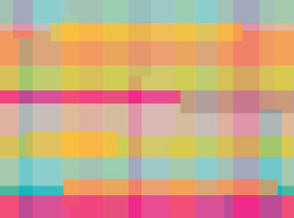 Bright Plaid Background Vector