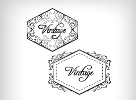 Free Vector Vintage Badge Designs