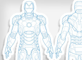 Free Ironman Vector