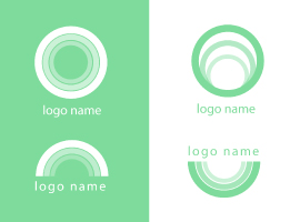 Modern Green Logo Vector Pack