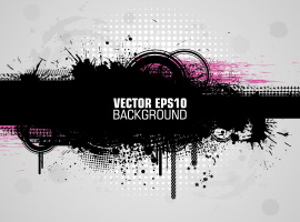 Grunge Banner Background Vector