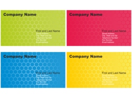 Set of Business Card Designs