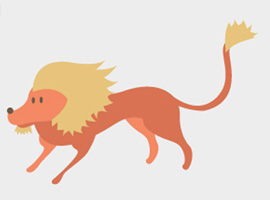 Lion Vector Cartoon