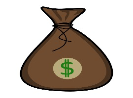 Free Vector Money Bag Icon