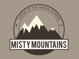 Mountain Vector Badge