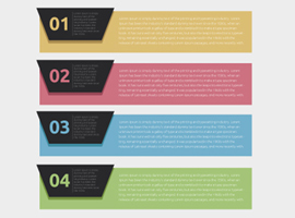 Options Banner Vectors