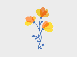 Free spring vector graphics free vector spring bouquet mightylinksfo