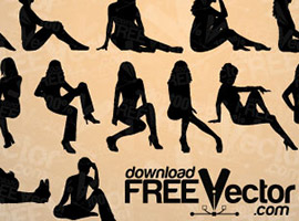Free Vector on Silhouette Vector Graphics