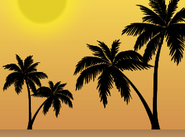 Tropical Tree Vector