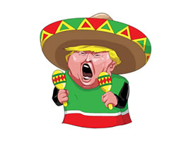 Free Trump the Mexican Vector