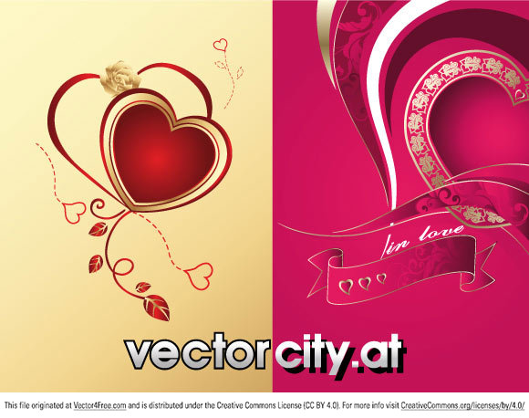 free vectors graphics - Heart Vector Illustration