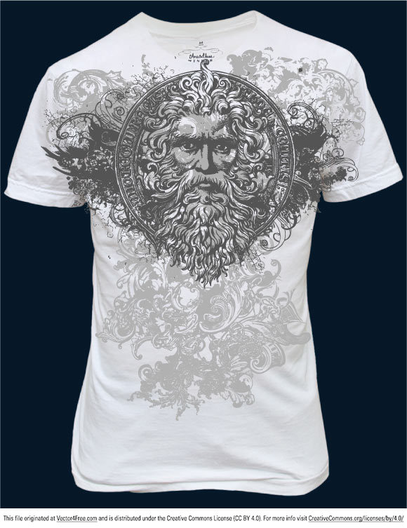 Ideas For T Shirt Designs t shirt printing design ideas Free Vector Art Grunge T Shirt In The Ai File