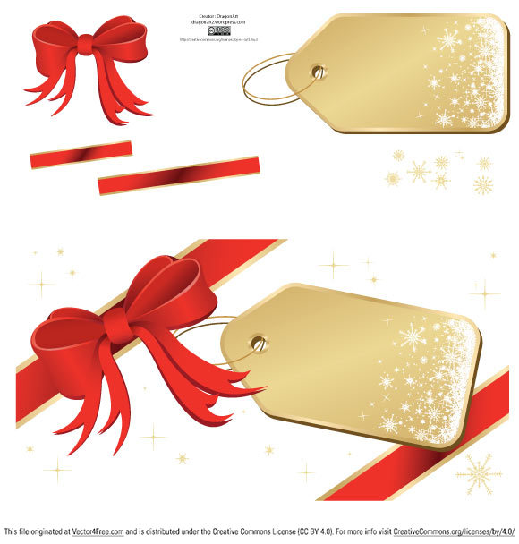 free vectors graphics - Holiday Greetings E-Card Vector