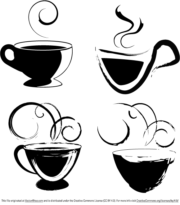 free vectors graphics - Coffee cups for your usage