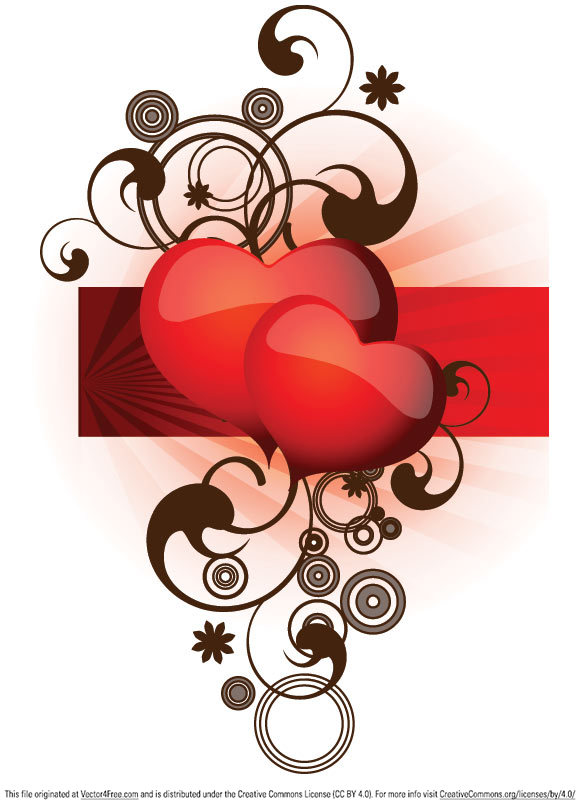free vectors graphics - Valentine