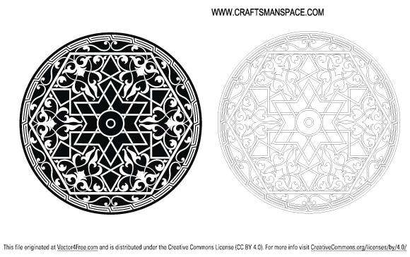 free vectors graphics - Islamic Ornament