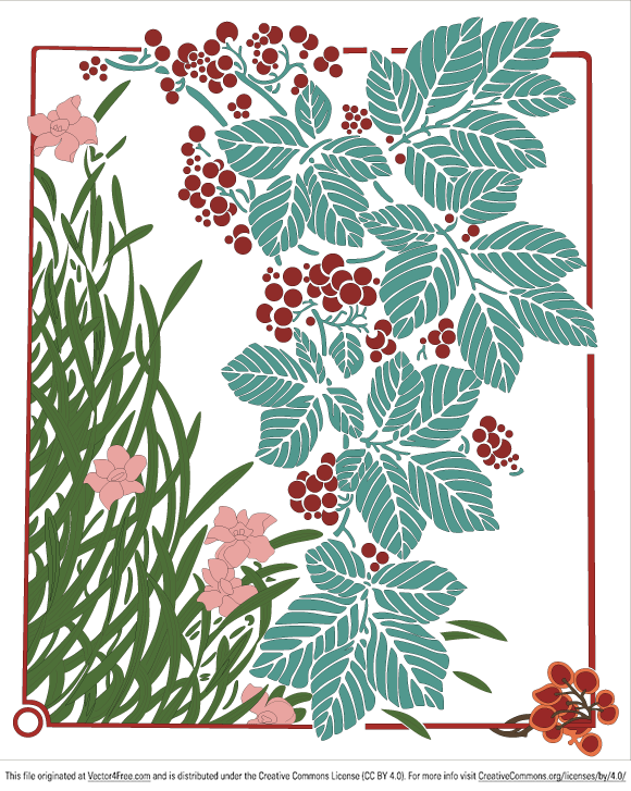 Free vector art Floral Illustration 