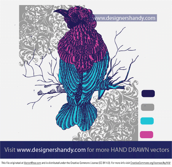 A sample Decorated Hand drawn vector for our customers. Visit www.designershandy.com for more hand drawn vectors.