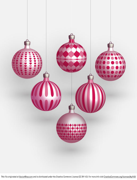 free vectors graphics -  Christmas Freebies – Vector Balls
