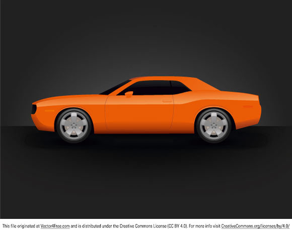 Free vector graphic - car - dodge challenger.