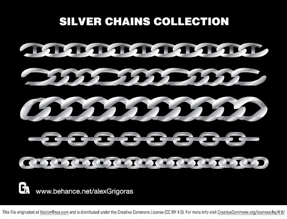 The best silver chains collection!