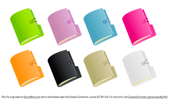 Document folder vista icon created in Adobe Illustrator.It is completely vectorized.
