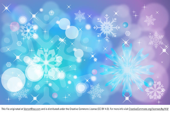 Winter color gradient  background with a snowflakes, stars and circles and balls helping to create  unique wallpaper.  You can use this vector freebie to create posters, banners, flyers, wallpaper, background for you prints or web site. Also silhouettes of snowflakes and stars can be used to create cool T-short, CD/DVD Covers, b-cards…