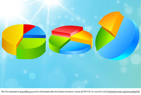 Free Vector Diagram Design by Vector-Finder.com Diagrams - set of glossy vector icons for your business presentations and reports.