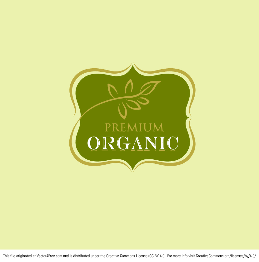 Free Vector Premium Organic Logo on off brand car logos
