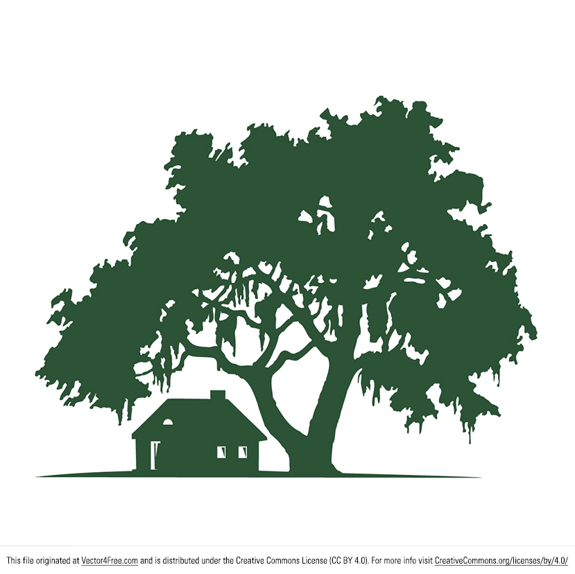 Don't you just want to go on vacation right now? At least you can act like you're at a cabin in the woods with this new Oak Tree Vector and Cabin Vector. This natural landscape vector features a rustic cabin vector beside a large oak tree. For Adobe Illustrator (Ai).