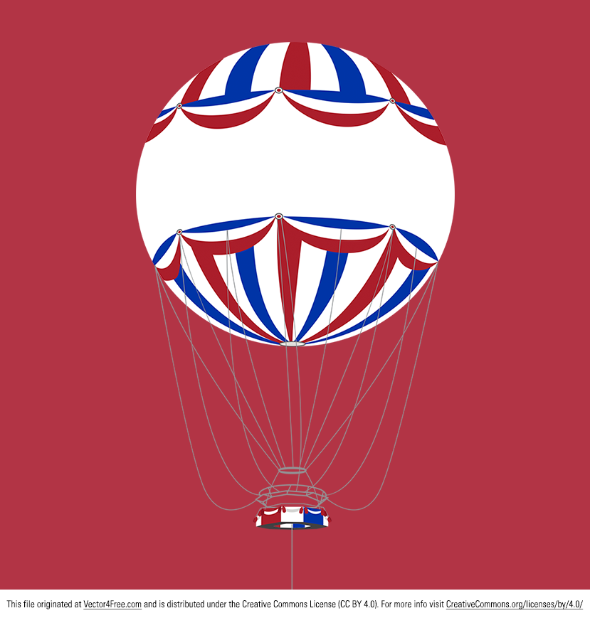 A fairly complex illustration I've created of the hot air balloon that is used by hundreds of thousands of people each year in Bournemouth, Dorset, UK. Hope you can use this hot air balloon background vector!