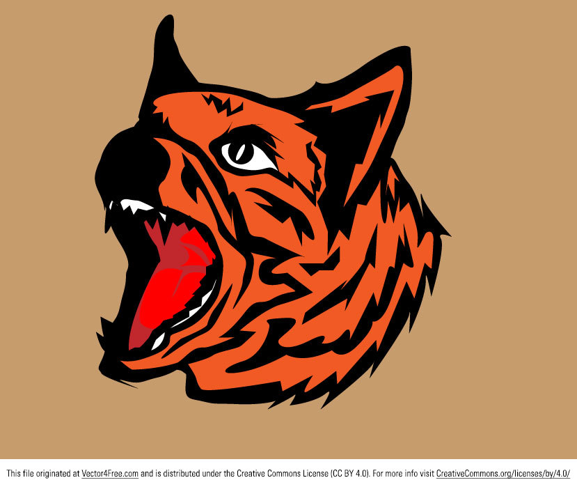 This is my free vector tiger mascot design - the file is in AI and free commercial use.