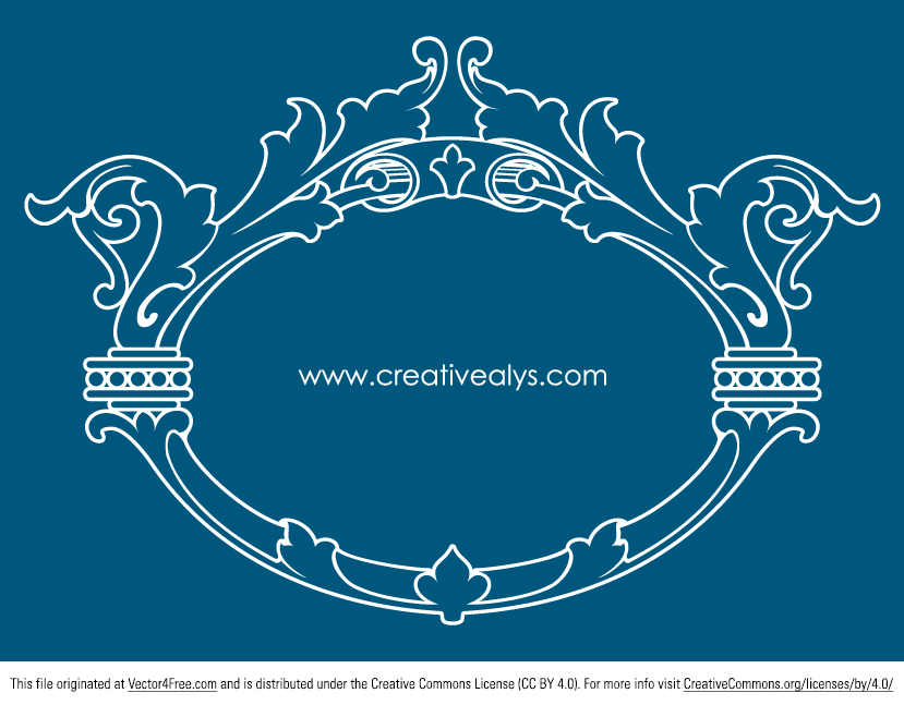 Never too much beautiful ornament free vectors! You may use them in graphic designs, as company logo  or as an attractive element in your blog or website. This freebie is in AI and EPS format.